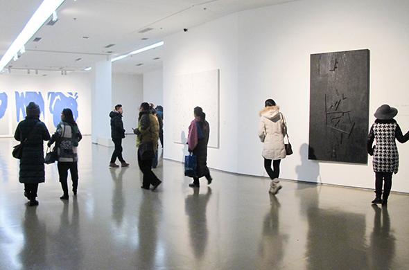 """历史梳理与学术研究:""""中国抽象艺术研究展""""于今日美术馆开幕"""